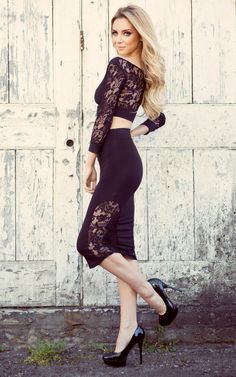Find More Apparel & Accessories Information about New 2014 Women winter dress sexy lace fashion dress stitching perspective sleeved dress suit vestido de festa party dresses,High Quality dresses for larger ladies,China dresses backless Suppliers, Cheap dress factory from Colorful butterflies on Aliexpress.com