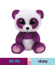 1d6cfa010a8 Beanie Babies Boom Boom The Purple Panda Ty Beanie Boos Release Brand