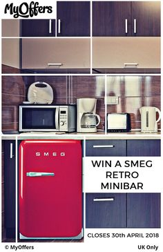 Enter free household competitions at MyOffers and win home appliances, a new kitchen, bathroom or many more exciting prizes online! Mini Fridge, New Kitchen, Competition, Household, Home Appliances, Retro, Free, House Appliances, Cool Mini Fridge