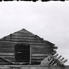 Remains of Chief Charlo's house in the the Jocko :: UM-Photo Archives