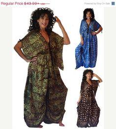 20% OFF JAN SALE H466 Batik Print Bali by LotusTradersClothing