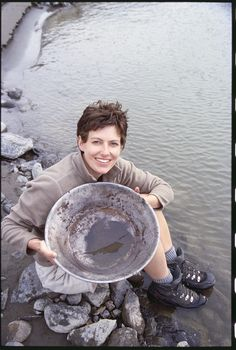 Gold panning is one of the activities you can enjoy at Echo Valley Ranch. www.evranch.com