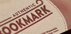 Authentic bookmark