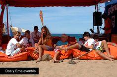 #Puff Marina de Fiaka.es #Decoración #ChillOut - Personaliza el tuyo con el logotipo de tu empresa.