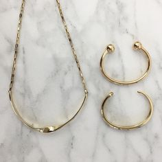 Balance your festive prints with some sleek and simple gold from our Capwell Classics collection. Enjoy 35% off site-wide by entering in promo code BLACKFRIDAY35 at checkout.  #GoForTheGold at Capwell.co. #LoveCapwell #gold #jewelry #necklace #bracelet #BlackFriday by capwellco