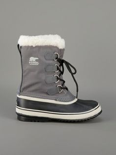 Sorel Winter Carnival Snow Boot in Gray (grey) really want/neeeed these!