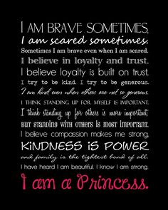 Disney quote I Am A Princess campaign. Every time I see this commercial it makes me tear up! I LOVE it!!!!<3<3<3<3<3<3<3<3