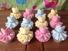 These pretty ballerina cupcakes will be perfect for a ballerina themed or princess themed birthday party. Your princess will love these cute cupcakes . Ballerina Cupcakes, Dance Cupcakes, Princess Cupcakes, Fun Cupcakes, Birthday Cupcakes, Barbie Cupcakes, Decorate Cupcakes, Giant Cupcakes, Cupcakes Design