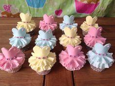 My ballerina cupcakes.