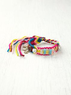 Free People Studded Friendship Bracelet at Free People Clothing Boutique