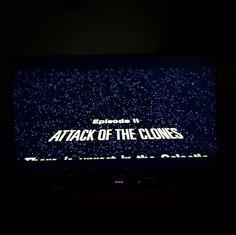 This is going to be a long day #starwars #StarWarsMarathon #episodeii