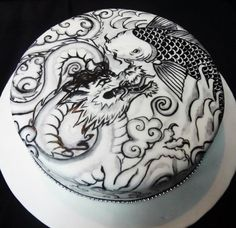 Tattoo Cake by Cakeaters Edible Art