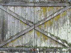 Wood gate, old, weathered  #wood #old #gate #weathered