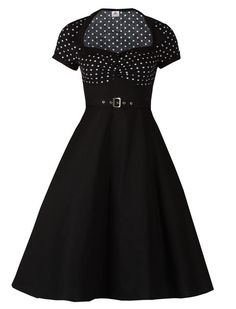 Polka Dot Flare - Rockabilly Clothing - Online Shop für Rockabillies und Rockabellas