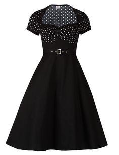 <3 me this dress!!! Polka Dot Flare - Rockabilly Clothing - Online Shop für Rockabillies und Rockabellas