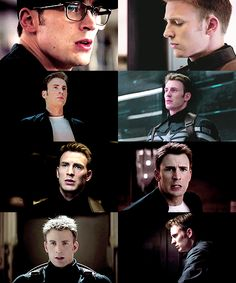 Either you admit that Chris Evans has a well sculpted face or you are wrong.
