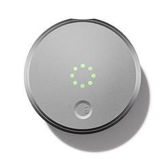 August Smart Lock - Keyless Home Entry with Your Smartphone, Silver August http://smile.amazon.com/dp/B00OHY14CS/ref=cm_sw_r_pi_dp_j7VYvb1HSTF73