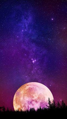Deep Dark Space Stars iPhone Wallpaper - iPhone Wallpapers