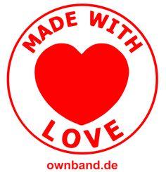 Wir lieben Armbänder! lass dich begeistern und entdecke die ownband welt auf www.ownband.de #ownband