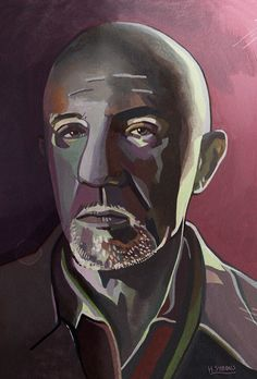 Haydn showcases his new portrait painting, featuring Mike Ehrmantraut & Hector Salamanca from the hit television show, Breaking Bad. Portrait Illustration, Character Illustration, Breaking Bad 3, Bad Person, Freelance Illustrator, Instagram Shop, Digital Art, Heisenberg, Portraits