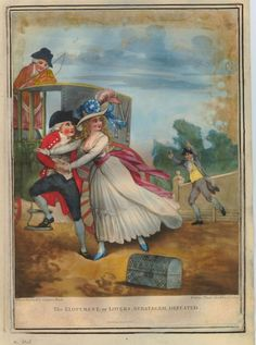 An 'Irregular' marriage – Arthur Annesley Powell, did he go willingly? (All Things Georgian) (print: The Elopement, or Lovers Stratagem Defeated)