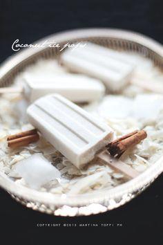 Ghiaccioli al cocco (coconut ice pops) - Trattoria da Martina - cucina tradizionale, regionale ed etnica