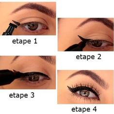 réussir son trait d'eye liner