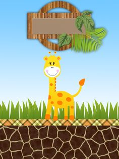 Montando minha festa: Safari Meninos Safari Theme Birthday, Happy Birthday Baby, Safari Party, Jungle Safari, Animal Birthday, Jungle Animals, Birthday Party Themes, Baby Invitations, Baby Shower