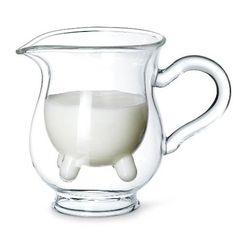 Jarra de leche con ubres  Regalos para amantes del café  http://cafeyte.about.com/od/Cafe-101/tp/Regalos-De-Navidad-Para-Amantes-Del-Caf-E.htm