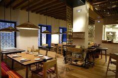iluminacion restaurante hoja santa barcelona__