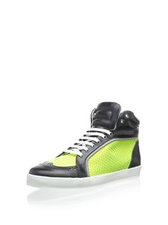 50% OFF Swear Women's Jamie 2 High Top Sneaker (Navy/Neon)
