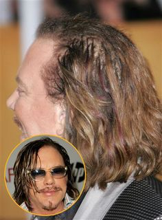 Mickey Rourke Now, this is one hairy situation.