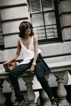 Blogger Style: Modern, Minimal But Detailed | Le Fashion | Bloglovin'