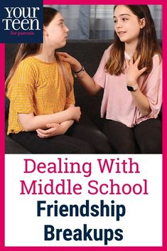 Managing Middle School Friendship Drama Getting left out is awful, but it's part of middle school. Get solid advice about listening to and validating your teen when they lose a friend as well as how to be kind when they want to end a friendship. Teen Boys, Tween Girls, Parenting Teens, Parenting Hacks, Friendship Breakup, Girl Drama, Parent Coaching, Raising Teenagers, Losing Friends