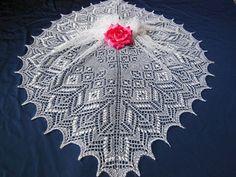 Tiina Lilleaed #shawl by Tiina Arusoo on @ravelry