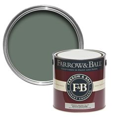 Farrow & Ball Estate De nimes Matt Emulsion paint - B&Q for all your home and garden supplies and advice on all the latest DIY trends Farrow Ball, Gloss Paint, Paint Stain, Pavilion Grey, Oval Room Blue, Elephants Breath, Stiffkey Blue, Purbeck Stone, Gray