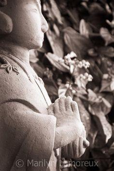 Fine Art Photograph  Jizosama Statue Photo  8x12 by ChasedByBeauty, $32.00