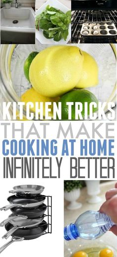 Kitchen Tricks That Make Life so Much Easier!