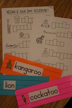 Mrs. Lees Kindergarten: Zoo