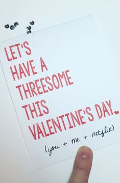 Sorry, that E-cards threesome valentine opinion very