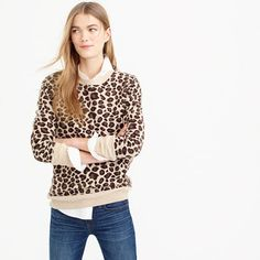 Collection cashmere leopard sweater 143.99 M6/6