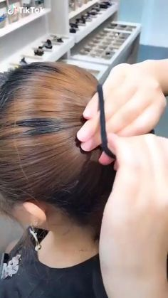 Bun Hairstyles For Long Hair, Cute Hairstyles, Undercut Hairstyles, Ballet Hairstyles, Hairstyles Videos, Shaved Hairstyles, Formal Hairstyles, Running Late Hairstyles, Wedding Hairstyles