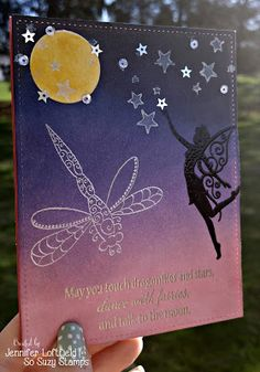 Dance with Fairies and Talk to the Moon | So Suzy Stamps Blog