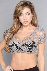Outstanding Crochet: Delicate Crochet Bolero. Be romantic!