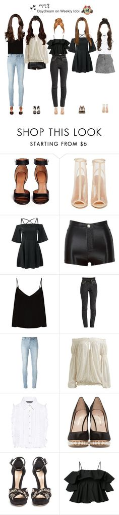 """— Daydream on Weekly Idol"" by daydream-official ❤ liked on Polyvore featuring Givenchy, Shoe Cult, Raey, Vetements, Philipp Plein, Arden B., Marissa Webb, Nicholas Kirkwood, Alexander McQueen and MSGM"