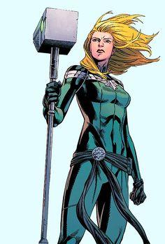 Car-Ell The Accuser in Captain Marvel #18