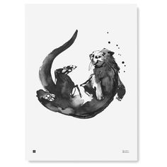 Otter Tattoo, Kreis Tattoo, Otters Holding Hands, Otters Cute, Fauna, Belle Photo, Animal Drawings, Drawing Sketches, Tatoo