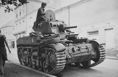AMC 35 light tank  French light tank Renault AMC 35, captured by the Wehrmacht during the invasion of France 1940.