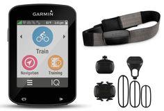 GARMIN GPS EDGE 820 Europe BUNDLE Ceinture Cardiaque + Capteurs de Cadence + Vitesse | Alltricks.fr
