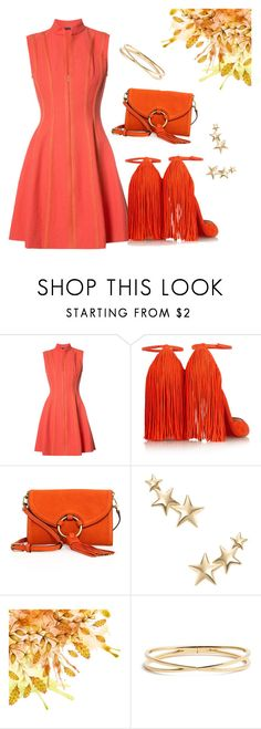 """317. Coral Style"" by explorer-148461648110 ❤ liked on Polyvore featuring Josie Natori, Christian Louboutin, Tory Burch, Kenneth Jay Lane and Nadri"